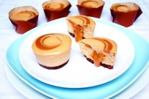 Caramel Individual Cheesecake 1-864