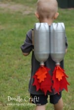 Super Sci-Fi Rocket fueled Jet Pack