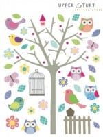 Wall Stickers – Owls Only $8.95