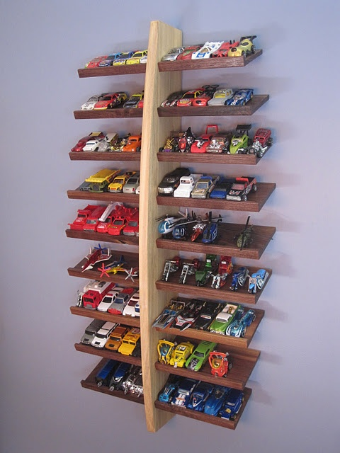 Diy Hot Wheels Display Shelf