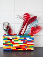 DIY Lego Utensil Holder
