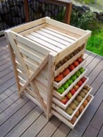 D.I.Y. Food Storage Shelf