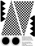 Free Checkered Flag Printables & More