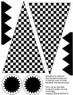 Free Checkered Flag Printables & More