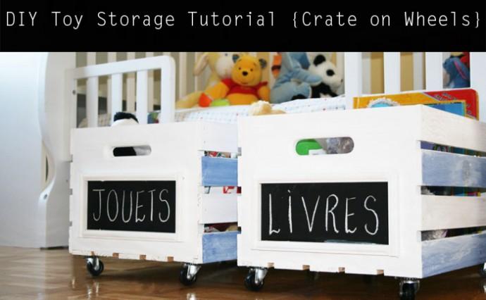 Diy Mobile Toy Storage Unit Upper Sturt General Store