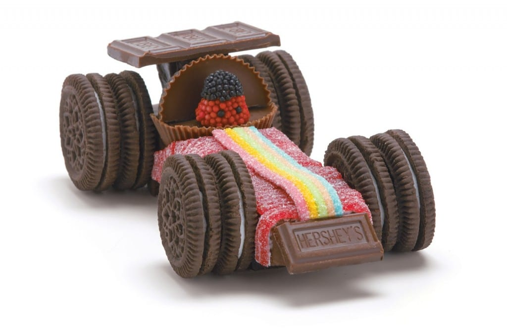 Oreo Amp Candy Racing Cars Upper Sturt General Store