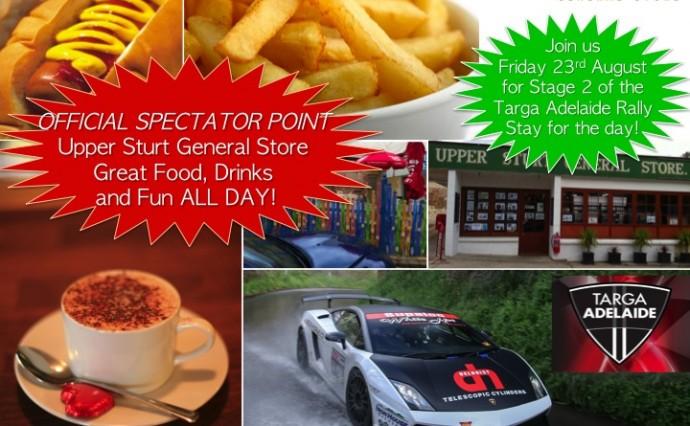 Targa Adelaide Rally 2013 - Official Spectator Point