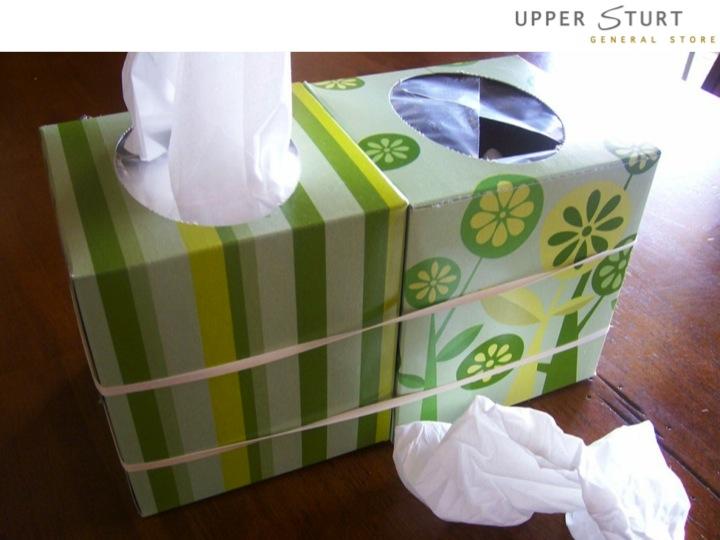 Tissue Bin Upper Sturt General Store