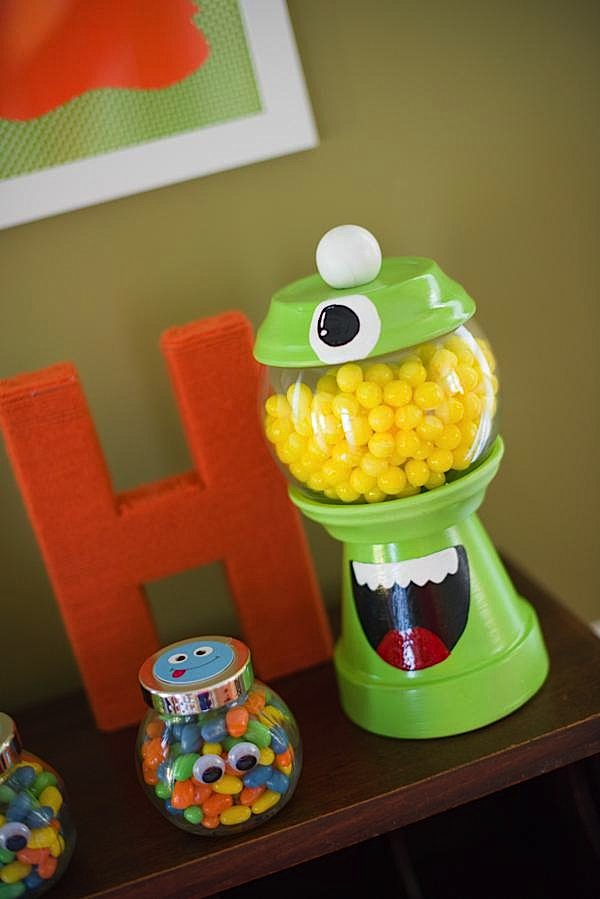 DIY Monster Bash GumBall Machine Upper Sturt General Store