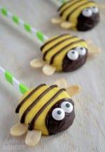 Bees Oreo Pops