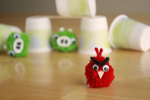 Angry Birds Pom Poms