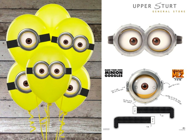 photograph about Minion Goggle Printable identified as Despicable Me Cost-free Printables higher sturt all round retailer