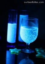 Glow in the Dark Drinks and Jelly