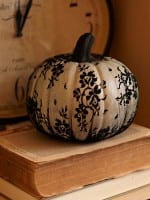 No Carve Halloween Pumpkin
