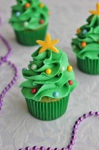 Mini Christmas Tree Cupcakes Upper Sturt General Store