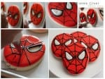 Spiderman Biscuit Tutorial