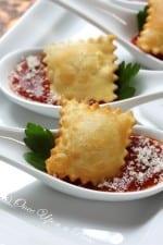Crispy Ravioli & Sauce