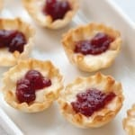 Brie and Cranberry Tartlets