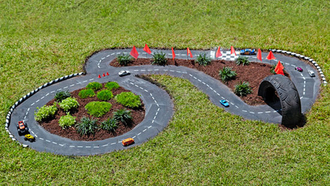 Create your own Backyard Bathurst Race Track