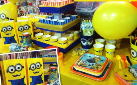 Despicable Me Party Theme
