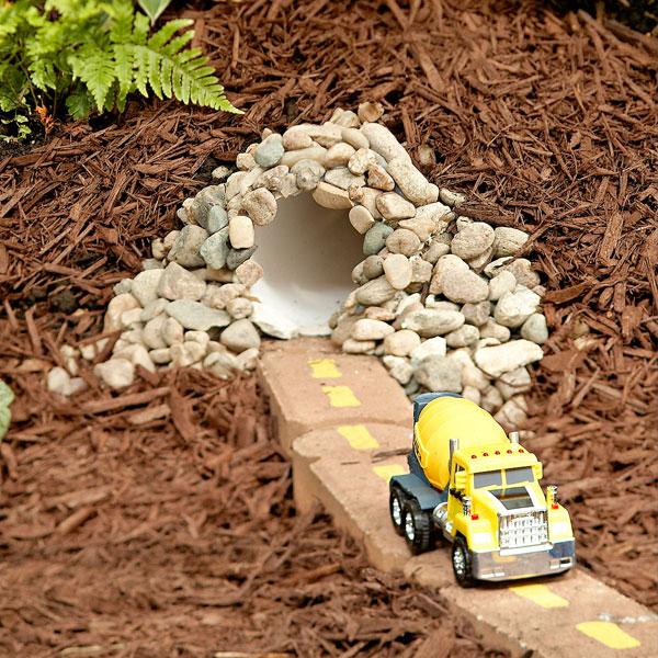 DIY Toy Car Tunnel