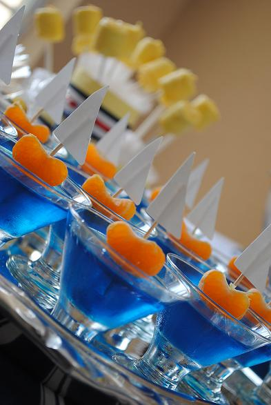 Nautical Themed Party Jellies
