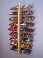 DIY Hot Wheels Display Shelf