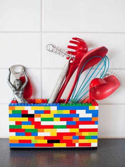 DIY Lego Utensil Holder