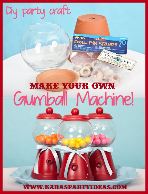 Make your own Gum Ball Machine