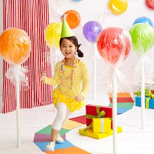 Make your own Balloon Lollipops