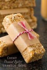 Easiest Microwave Peanut Butter Granola Bars