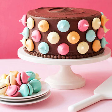 Polka Dot Party Cake