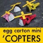 Egg Carton Mini Copter