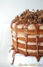 Nutella Chocolate Torte Recipe
