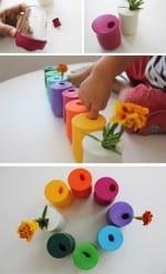 DIY Balloon Vases