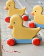 Vintage Toy Duck Biscuits