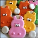 Hungry Hungry Hippo Cookies