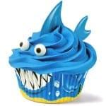 Shark Cupcake