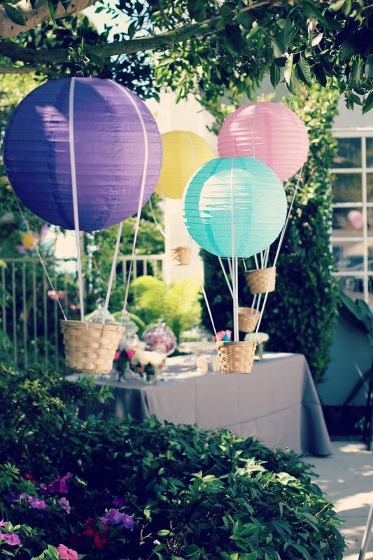 Lantern Hot Air Balloons