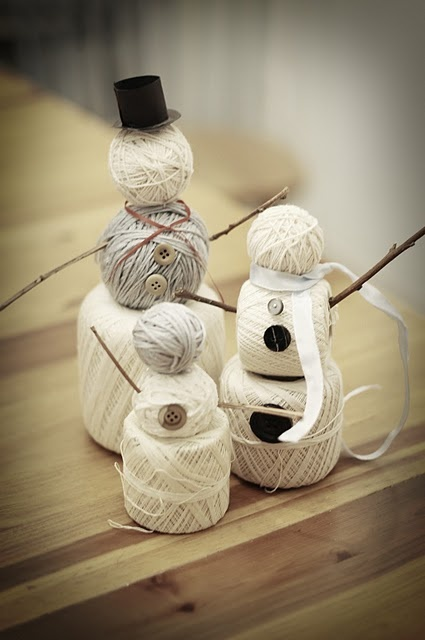 DYI Yarn Snow-Family