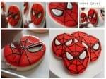 Spiderman Biscuit Tutorial