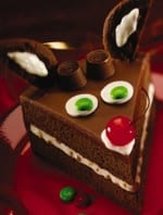 Rudolph The Red-Nosed Reindeer Christmas Cake