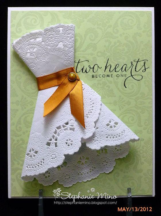 Paper Doily Dress